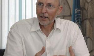 Sr. Theodor Friedrich representante de la FAO en Cuba