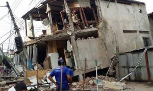 Unasur visita Zonas afectadas por el sismo en Ecuador