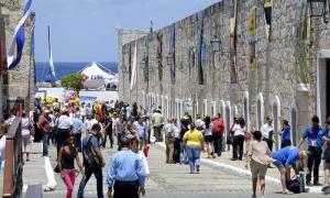 Ambiente en el Complejo Morro-Cabaña, sede de la Feria Internacional de Turismo, FitCuba 2016, en La Habana, el 5 de Mayo de 2016.
