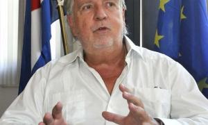 Entrevista realizada al Sr. Herman Portocarero embajador de la delegación de la Unión Europea en Cuba en su propia sede.
