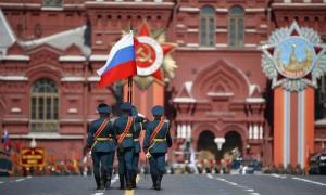 De forma ininterrumpida desde 1996, Rusia organiza cada año el Desfile de la Victoria en la Plaza Roja. Foto: RT