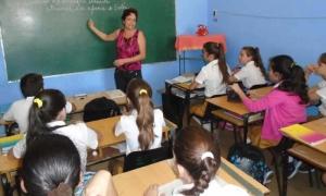 Maestra Laura Real Calvo, de la secundaria básica Tomás Orlando Días