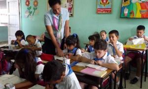 En el trabajo cotidiano frente al aula, los nuevos educadores confirman su vocación por el magisterio.