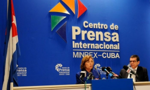 La delegación cubana estuvo presidida por la directora general de Estados Unidos del Ministerio de Relaciones Exteriores, Josefina Vidal Ferreiro