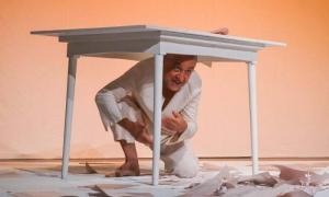 Obra de Teatro El Quijote No Existe, de la compañía Gayumba, de República Dominicana, en la sala Adolfo Llauradó y como parte del Festival Mayo Teatral.