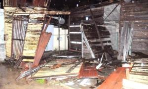 Los mayores afectaciones se observan en las viviendas. Foto: Manuel de Feria