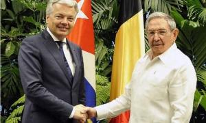 Recibió Raúl al Canciller belga