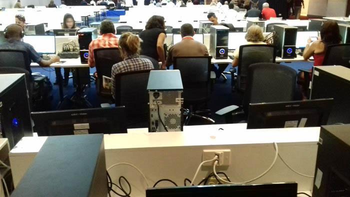 Lista sala de prensa para VII Cumbre de la AEC en Cuba