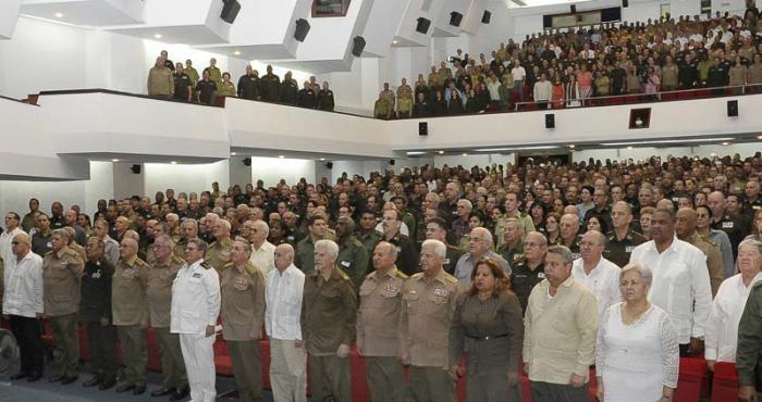 Celebran en Cuba aniversario 55 del Ministerio del Interior