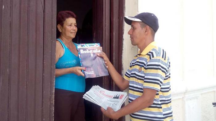 agentes postales en Cuba