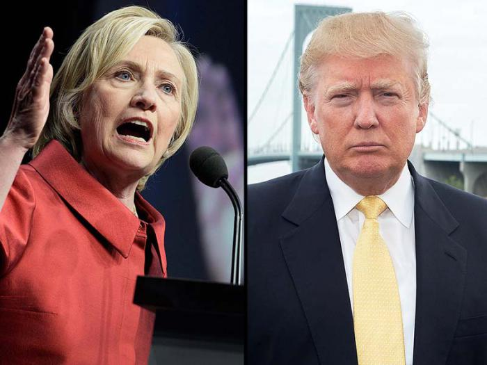 Hillary Clinton y Donald Trump