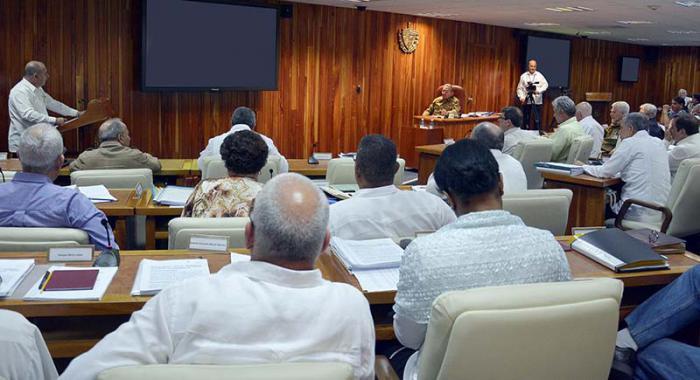 Reunión del Consejo de Ministros de Cuba