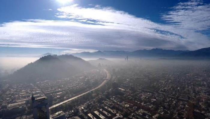 Contaminación atmosférica en Santiago de Chile