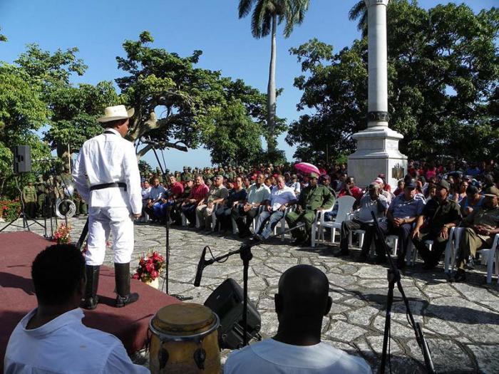 Homenaje a José Maceo en el aniversario 120 de su caída en combate