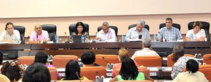 La ciencia en la agenda de los parlamentarios cubanos