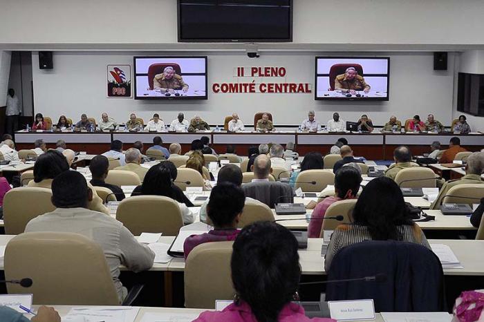 Pleno del Comité Central del Partido