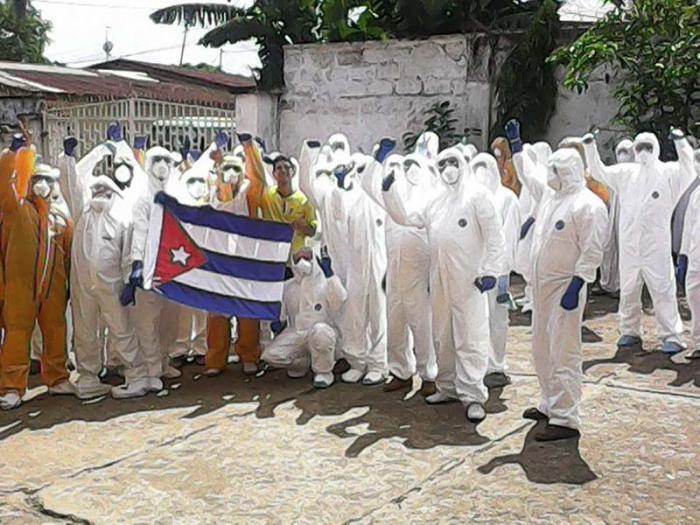NGO Gives Prize to Cuban Physicians who Fought against Ebola