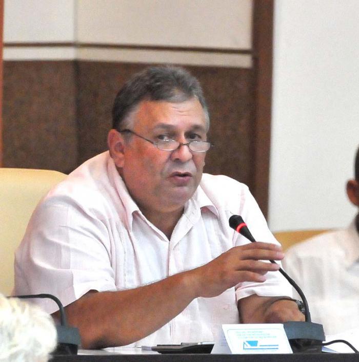 Marino Murillo Jorge interviene en el VII Período Ordinario de Sesiones de la Asamblea Nacional del Poder Popular