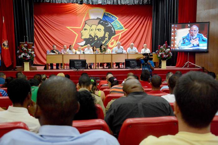 Efectuado Pleno Extraordinario del Comité Nacional de la UJC