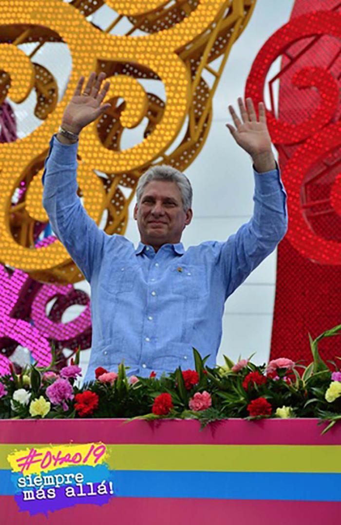 Discurso de primer vicepresidente cubano en acto por el Aniversario de la Revolución Sandinista