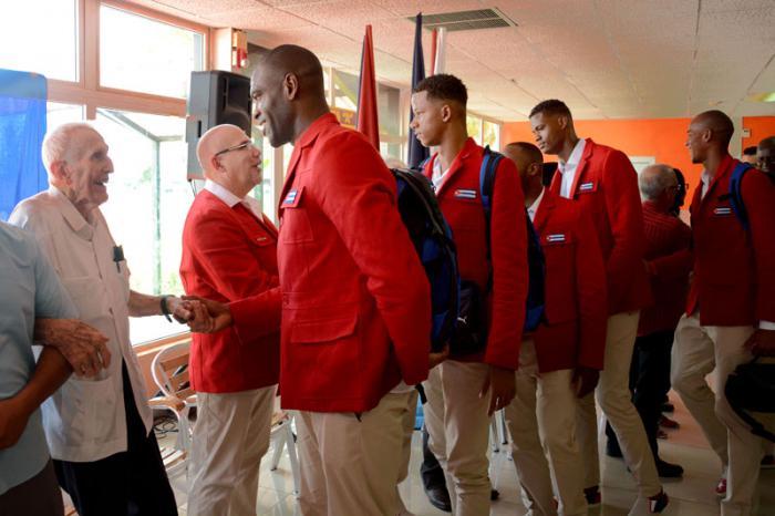 Parten hacia Río de Janeiro deportistas cubanos