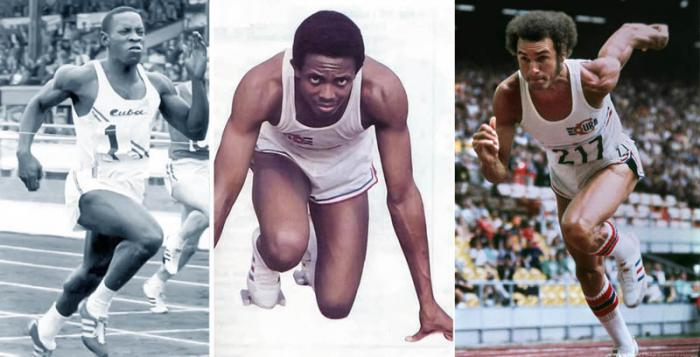 Dos subcampeones olímpicos en la velocidad pura, Enrique Figuerola y Silvio Leonard, más el Juantorena del doblón magistral