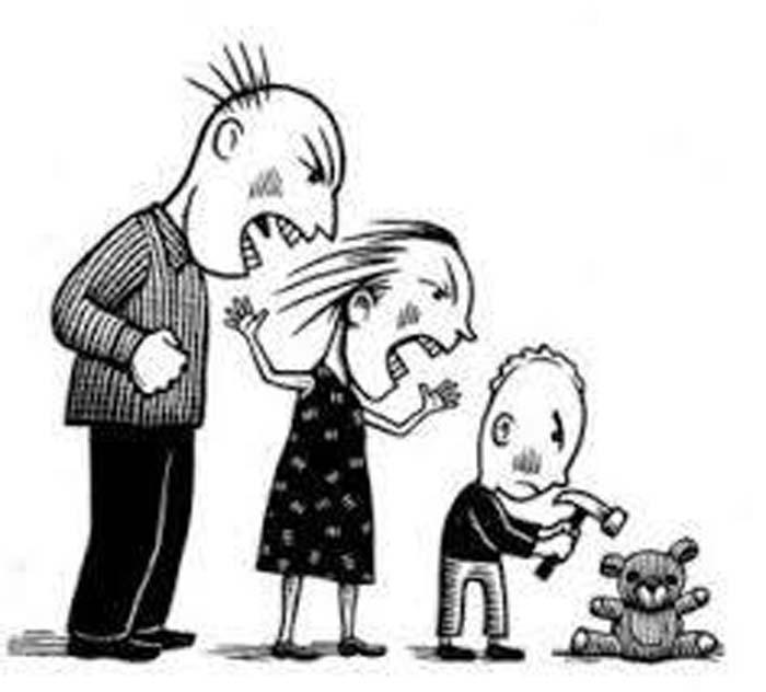 Las Evidentes Diferencias Entre Hablar Y Golpear Todo