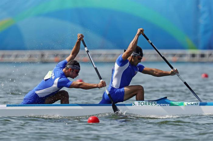 Cuban canoeists to compete today in the Canoe Sprint World Cup