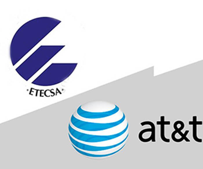 Firman acuerdos entidad cubana ETECSA y  la norteamericana AT&T
