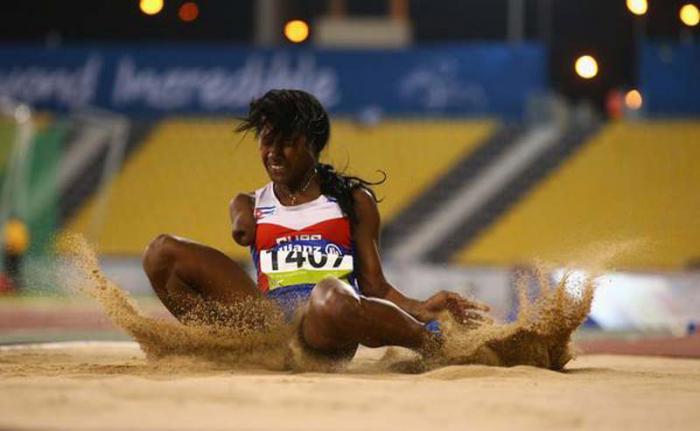 Yunidis buscará la medalla olímpica en el salto de longitud.