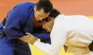 Asley gonzález (derecha) es la principal carta del judo masculino.