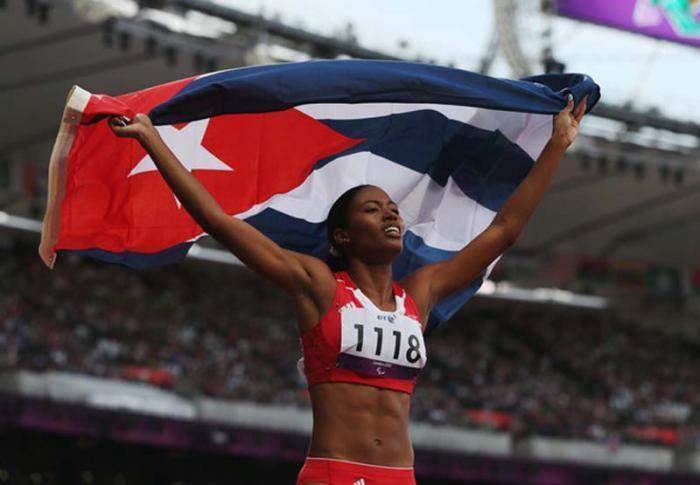 Omara Durand buscará poner de nuevo en alto el nombre de Cuba.