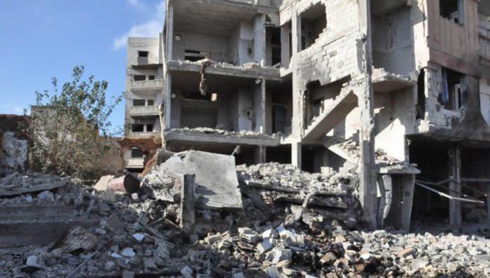 explosiones en siria