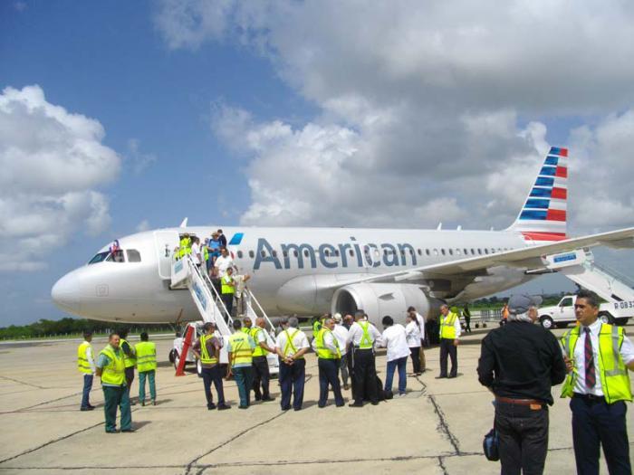 American Airlines abre destino Cuba en cinco aeropuertos del país