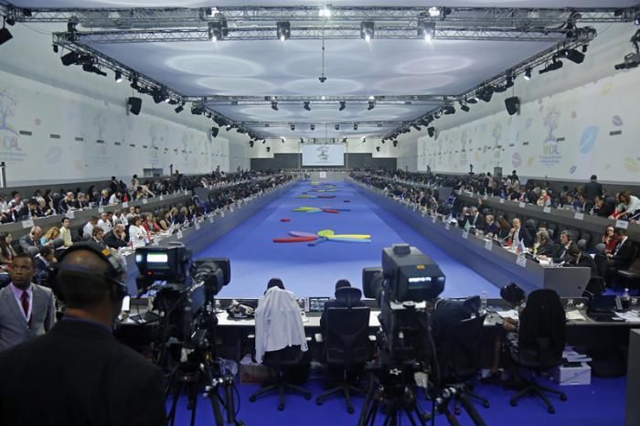 XVII Cumbre del movimiento de países no alineados en venezuela.