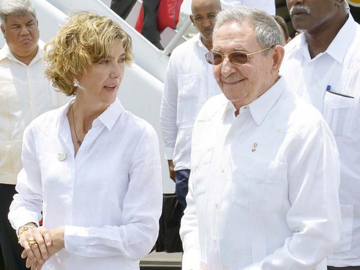 Raúl en Colombia