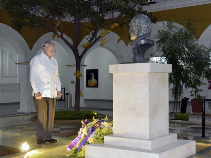 Presidente cubano rinde homenaje a García Márquez en Cartagena