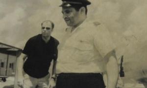 Manuel Espinosa, copiloto del vuelo de Cubana saboteado en Barbados.
