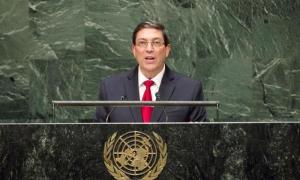 Canciller cubano, Bruno Rodríguez Parrilla. foto: Archivo Naciones Unidas