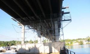 Reparación del Puente de Boca de Jaruco.