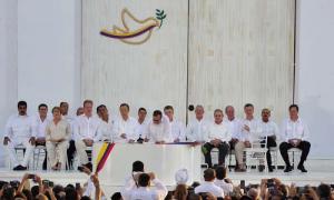 fIRMA DE LA PAZ EN COLOMBIA