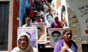 Ayotzinapa luego de casi dos años de pesquisas aún no hay rastro de los jóvenes desaparecidos.