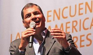 El presidente Correa dictó una conferencia magistral en la primera sesión del III Encuentro Latinoamericano Progresista ELAP 2016.
