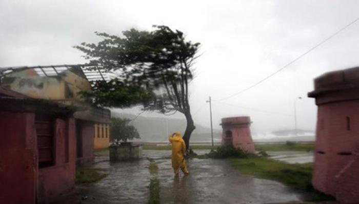 Registros históricos de lluvia en Maisí al paso de Matthew