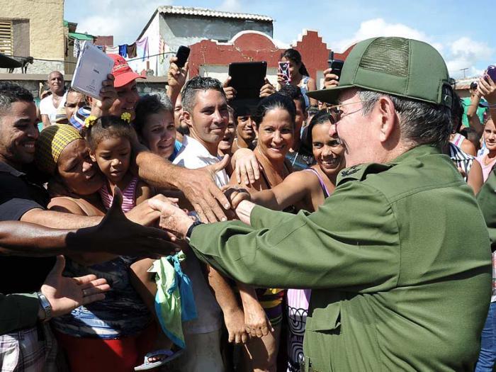 Raúl en Guantanamo