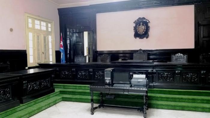Restauran sala donde Fidel realizó su primera autodefensa