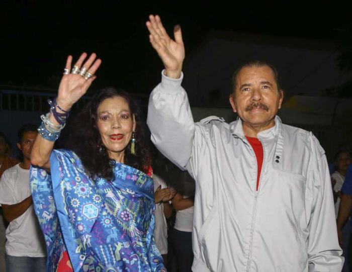 Felicitó Raúl Castro a Daniel Ortega y Rosario Murillo por victoria electoral en Nicaragua