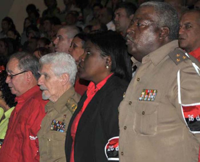 Tributo a Fidel y a los mártires del 30 de noviembre en Santiago de Cuba