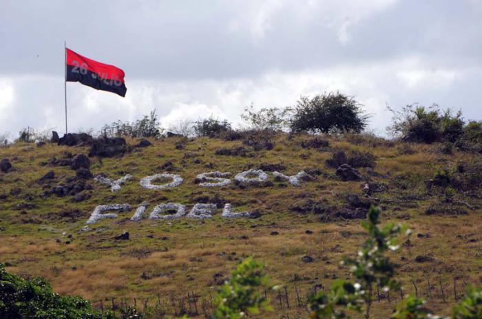 Se desplaza por la ciudad de Bayamo el cortejo fúnebre que traslada las cenizas del líder de la Revolución cubana Fidel Castro Ruz