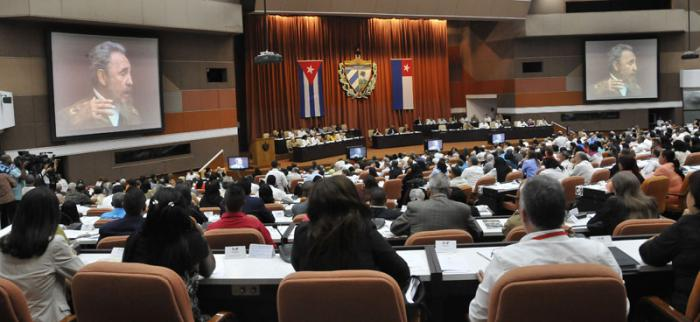 Rinde homenaje a Fidel Asamblea Nacional de Cuba